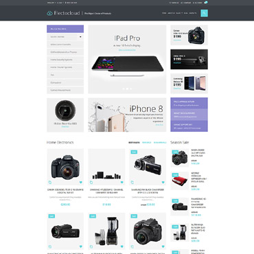 Preview image of Electrocloud - Mobile Store