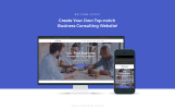 """TopConsult - Business Consulting WordPress Theme"" Responsive WordPress thema"