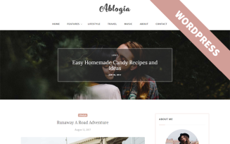 Ablogia - Personal Blog WordPress Theme