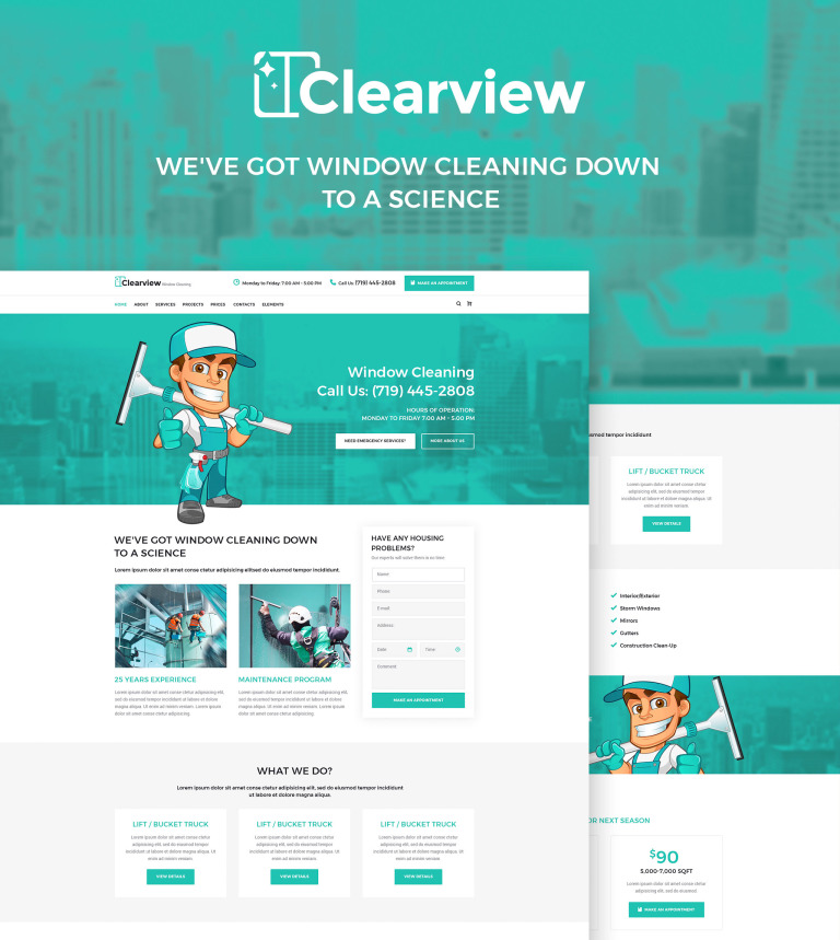 Theme Wordpress Adaptatif 65463 Pour Site De Developpement Web