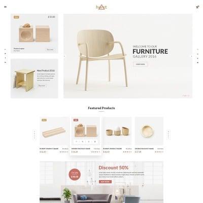 Hurst - Furniture eCommerce Website Template #65418