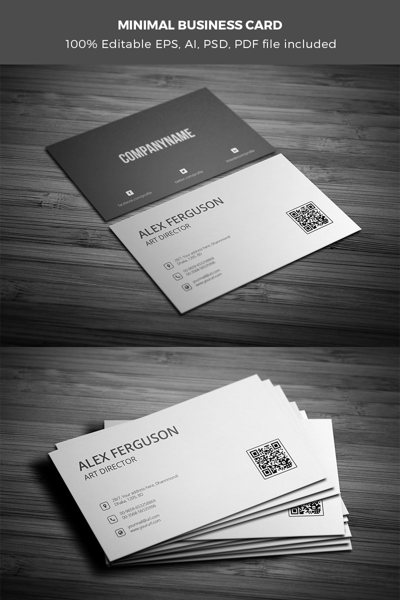 Business Card Corporate Ideny