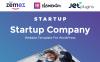 Одностраничный WordPress шаблон сайта стартап компанії New Screenshots BIG