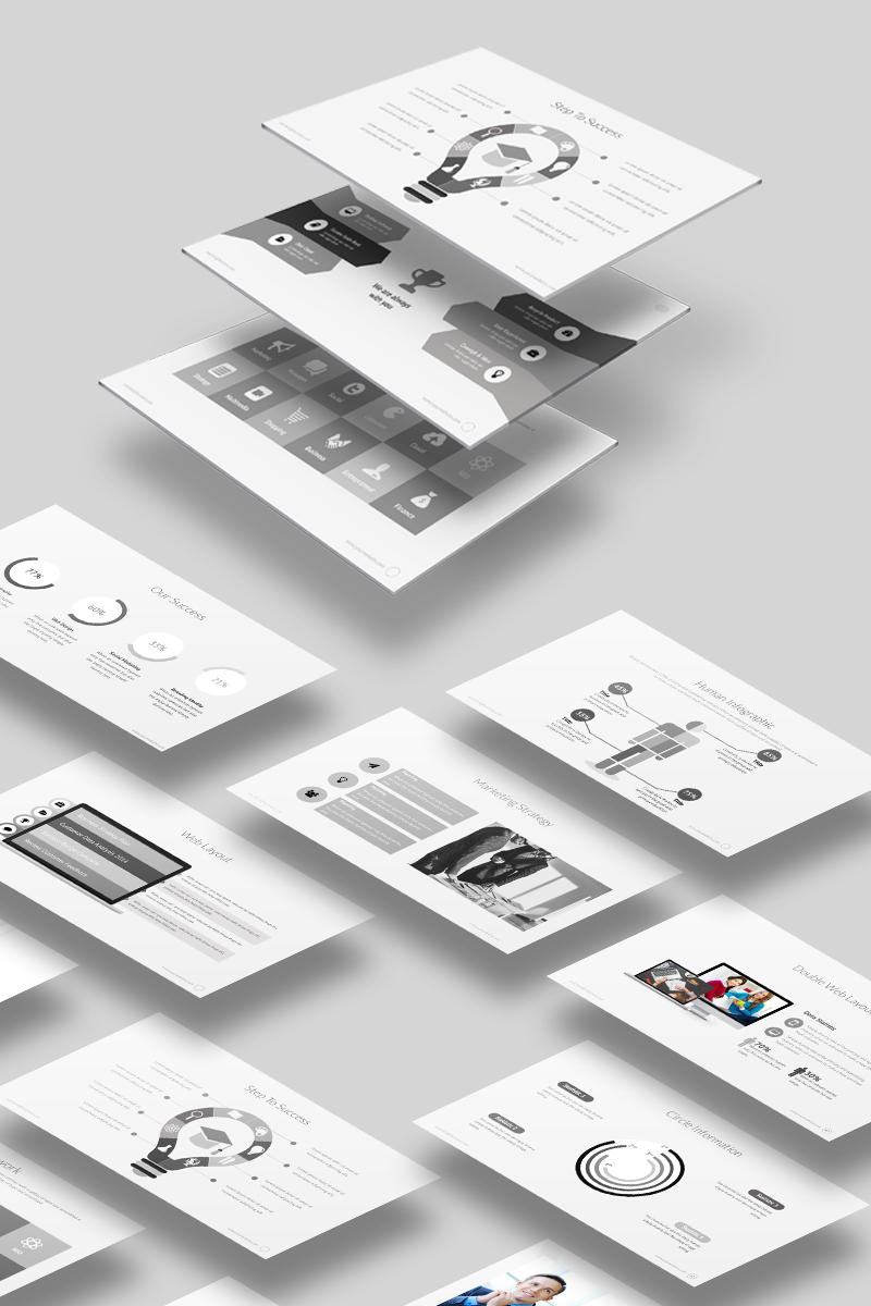 Plantilla PowerPoint #65443 para Sitio de Tecnología de la información