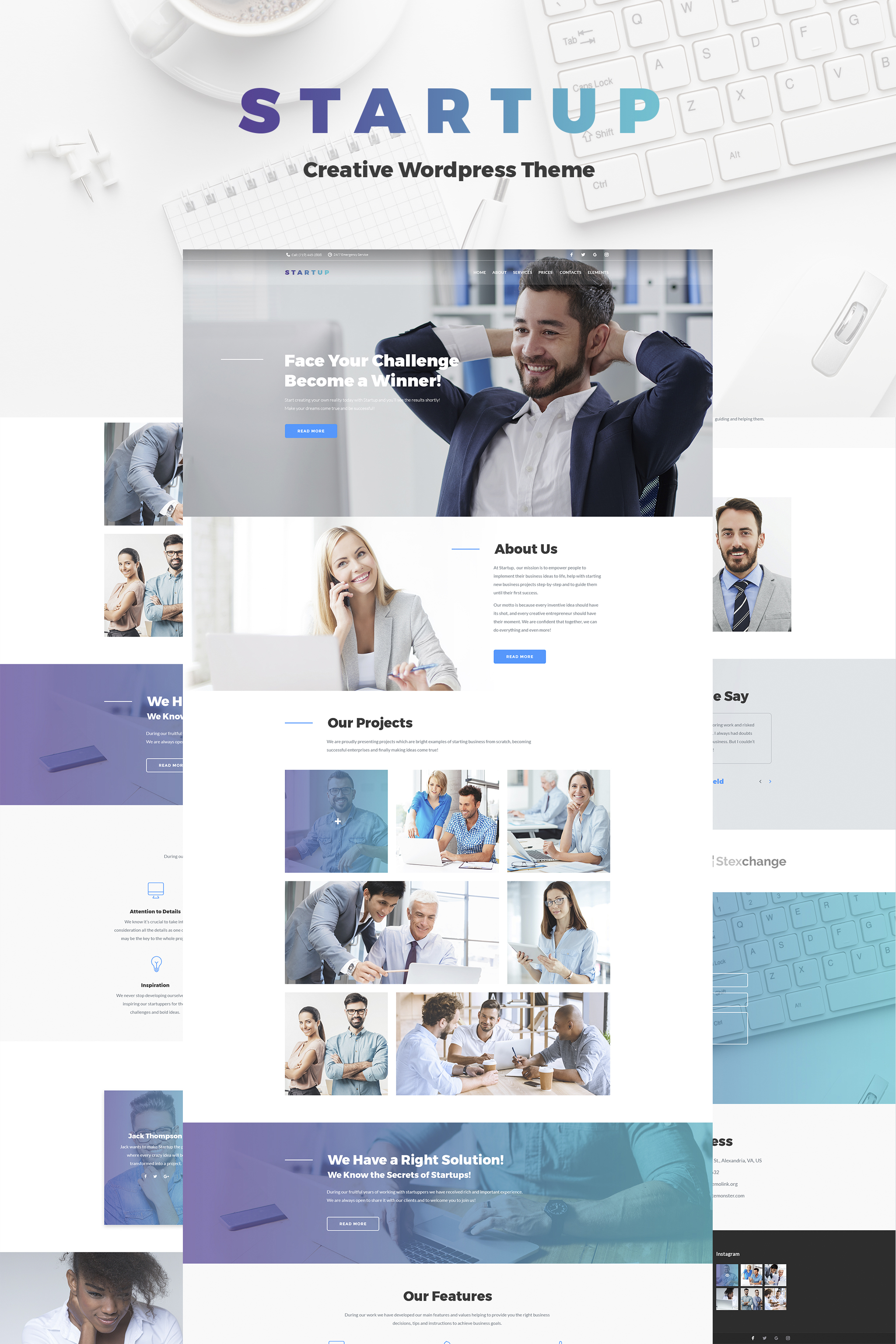 Business Website Design Ideas