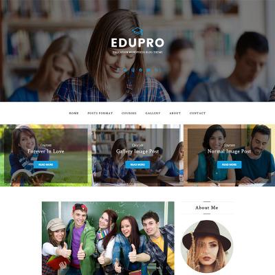 Temas WordPress para Sitios de Educación y Libros | TemplateMonster