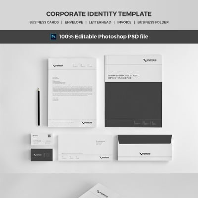 Corporate identity from Template Monster for corporate identity design