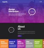 Веб дизайн. Шаблон сайта 65507