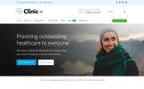 Responsivt Clinic Pro WordPress-tema