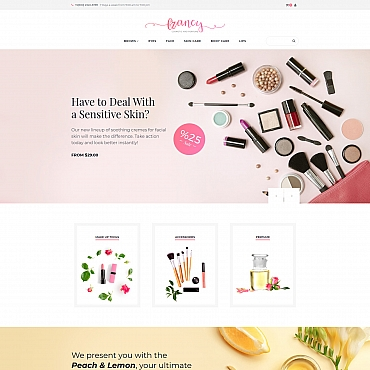 Preview image of Francy - Cosmetics Store