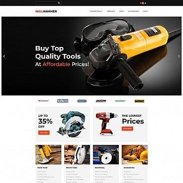 Купить  пофессиональные MotoCMS шаблоны для интернет-магазинов. Купить шаблон #65593 и создать сайт.