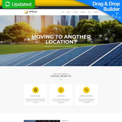 Solar Energy Templates Templatemonster
