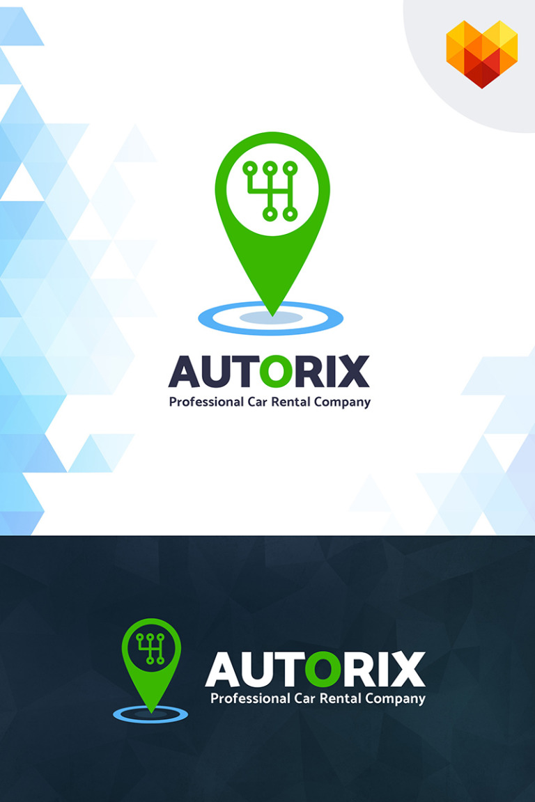 Autorix - Professional Car Rental Company Logo Template Big Screenshot