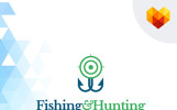 Fishing and Hunting Logo Template