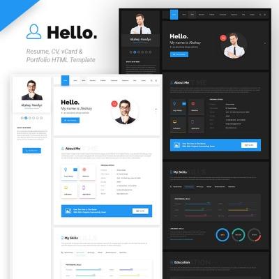 34+ Best Designer Portfolio Website Templates