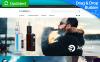 "MotoCMS E-Commerce Vorlage namens ""Vapor"" New Screenshots BIG"