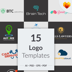 Business services templates templatemonster 15 niche business logo designs accmission Gallery