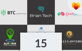 Paquete de 15 logos para negocios de nicho