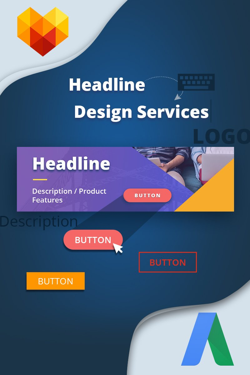 30 PSD Web Banners (AdWords) №65577