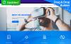 """RufusVR - VR Startup"" Responsive Moto CMS 3 Template New Screenshots BIG"