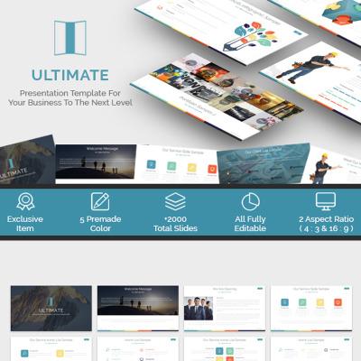 Ultimate presentation powerpoint template 65545 it powerpoint template toneelgroepblik Gallery