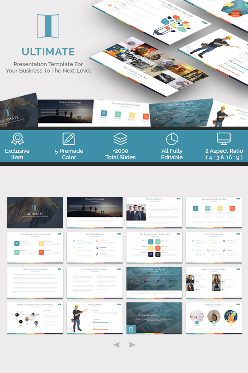 Ultimate - Presentation PowerPoint Template