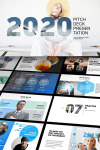 2018 Pitch Deck PowerPoint Template