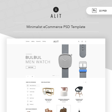 Preview image of Alit - Minimalist eCommerce
