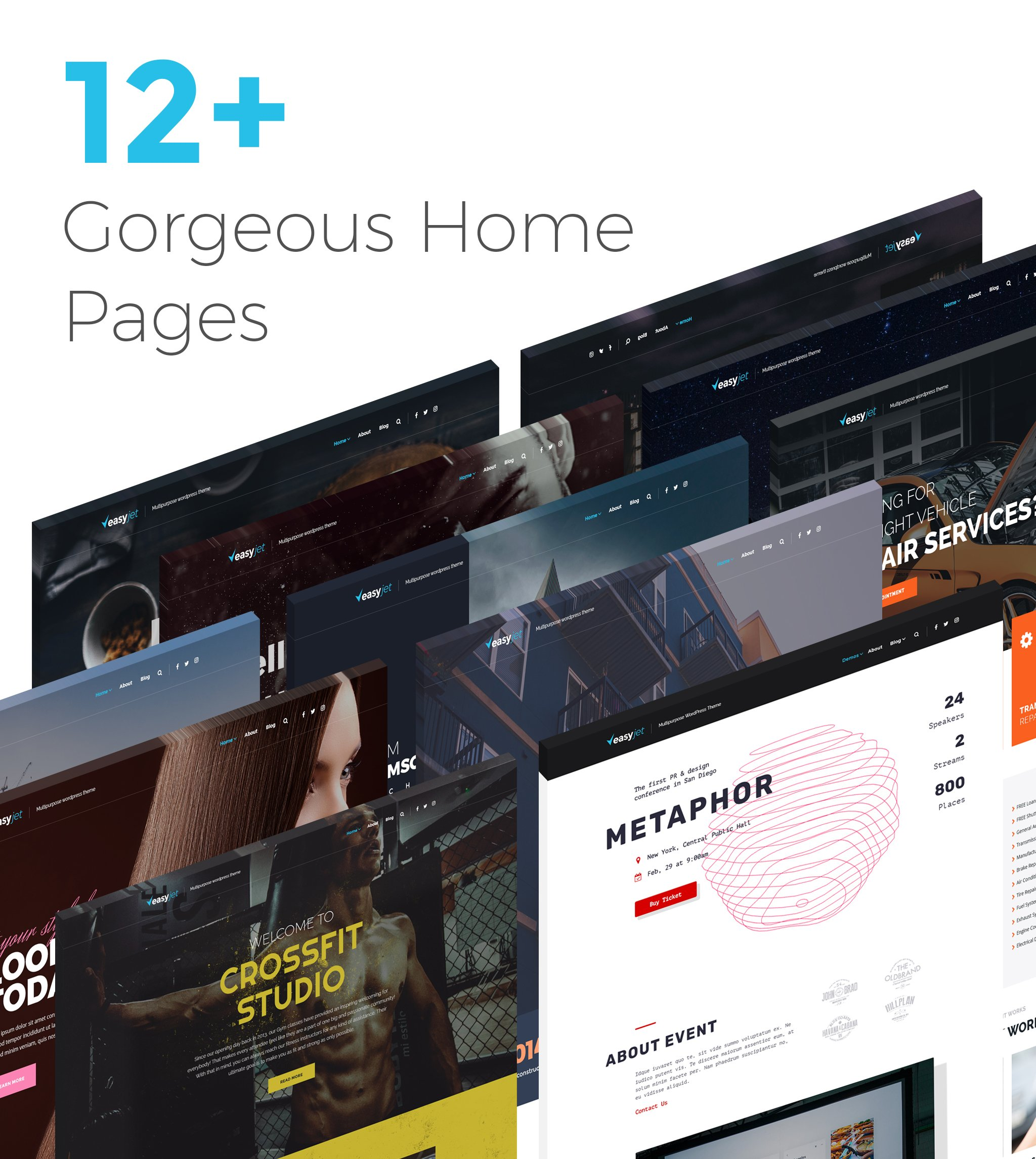 EasyJet Multipurpose WordPress Theme
