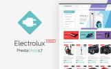 Responsivt PrestaShop-tema för elektronikbutik