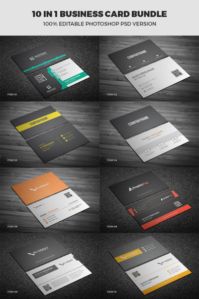 Business Card Printable Bundle #65691
