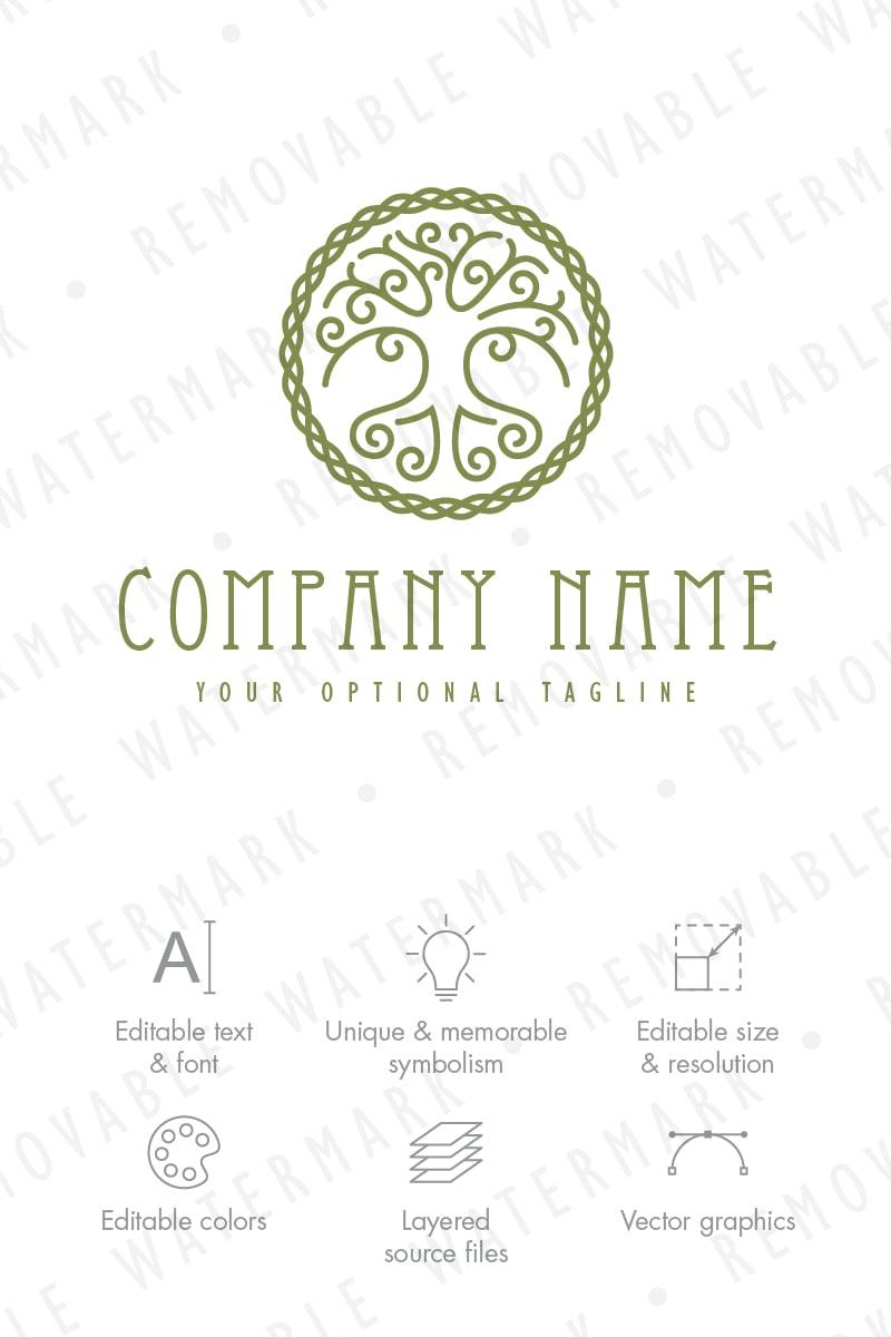 celtic tree of life logo template 65692