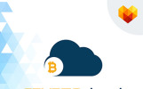 Crypto Cloud - Bitcoin Trading Company Business Logo Template