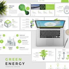 Environmental powerpoint templates green energy good pptx theme 65675 toneelgroepblik Image collections