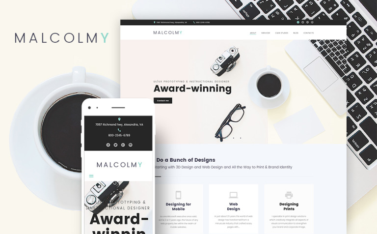 Freelance designer personal portfolio lite free wordpress theme malcolmy freelance designer personal portfolio lite free wordpress theme new screenshots big maxwellsz