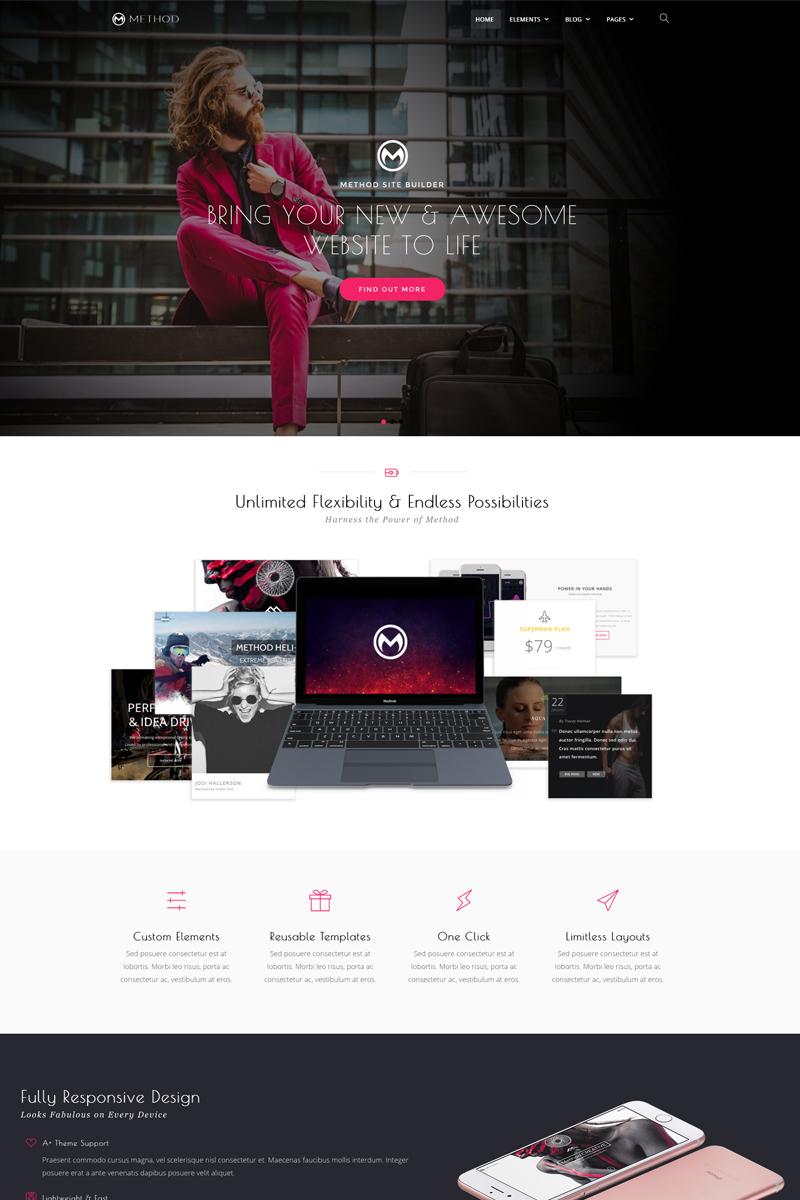 Method,  A Huge Multi-Concept WordPress Theme - screenshot