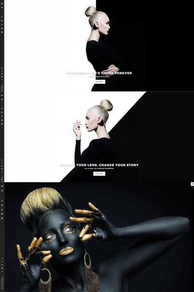 Photography - WordPress Theme