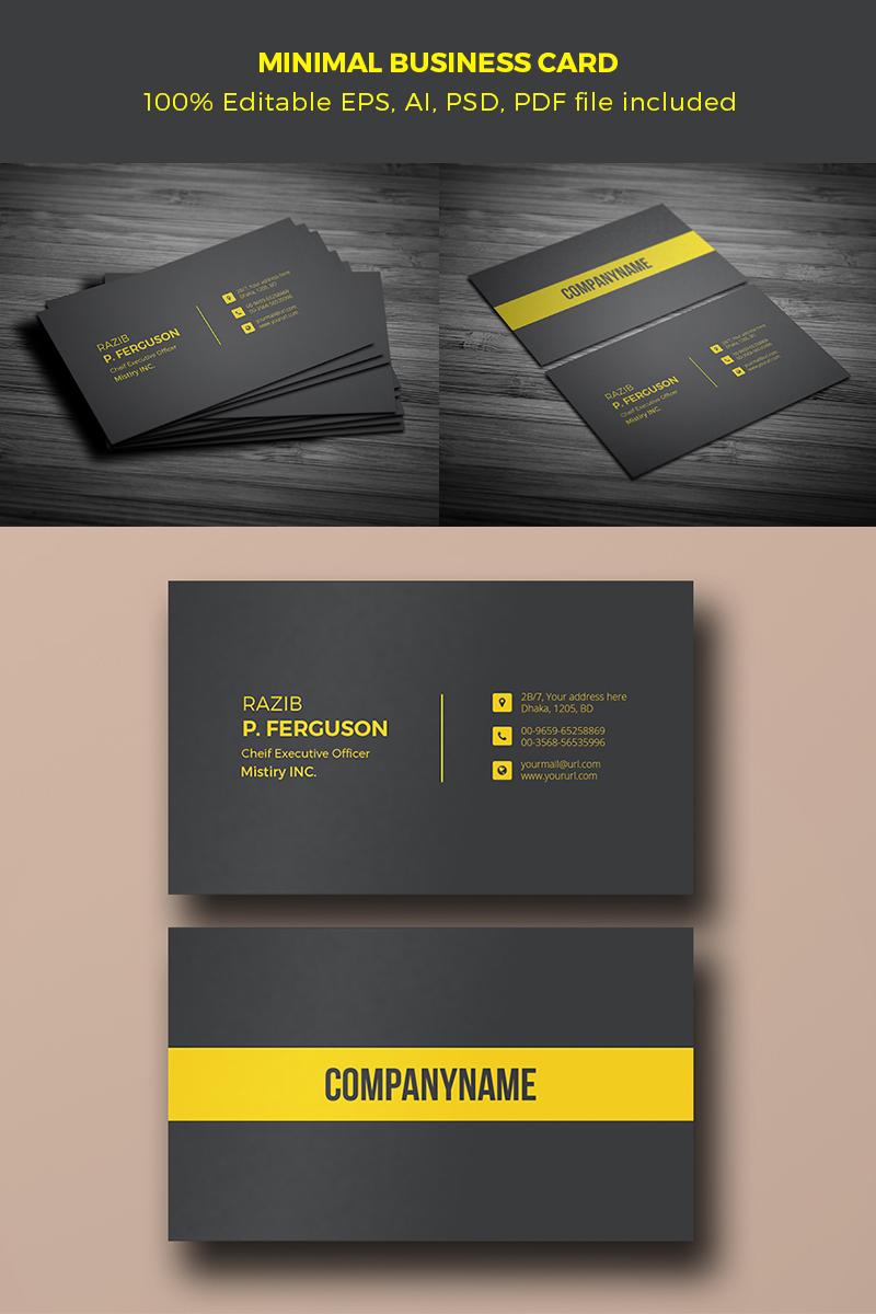 "Plantilla De Identidad Corporativa ""Stylish Business Card"" #65669"