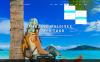 Plantilla Web para Sitio de Guías de viajes Captura de Pantalla Grande