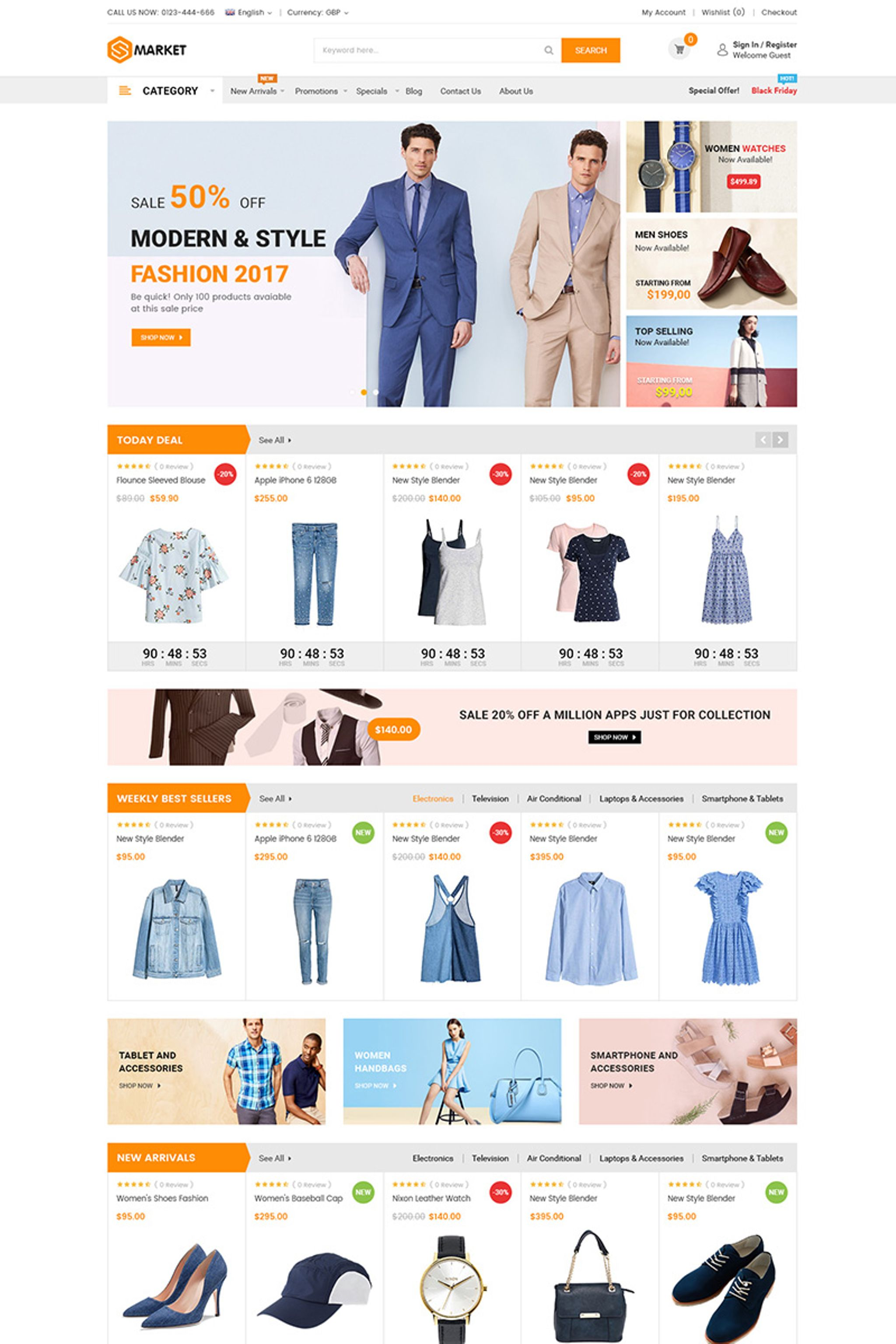 Bootstrap Magento Themes | TemplateMonster