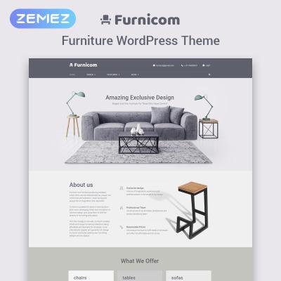 Temas WordPress para Sitios de Muebles | Temas WordPress para Sitios ...