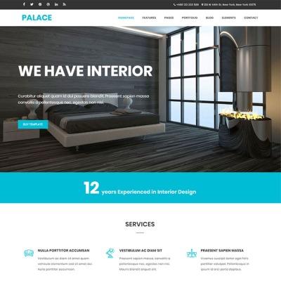 Template siti web di architettura for Siti di interior design