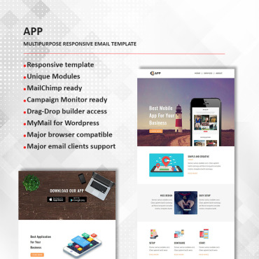 Preview image of APP - Multipurpose Responsive
