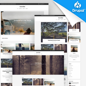 Preview image of Traveler - Travel Blog Premium