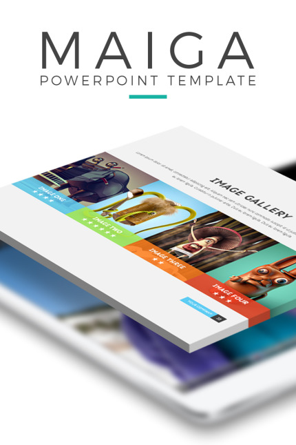 PowerPoint Template  #65758