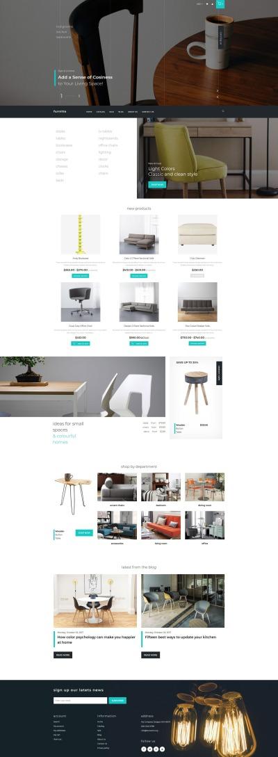 Möbler Responsivt Shopify-tema