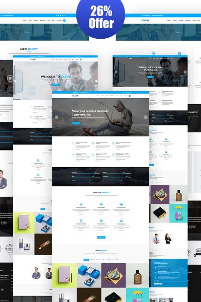 Адаптивный WordPress шаблон №65797 на тему маркетинговое агентство #65797