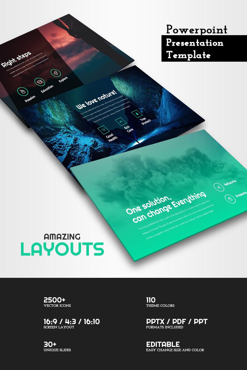 Amazing Layouts - PowerPoint sablon 65773