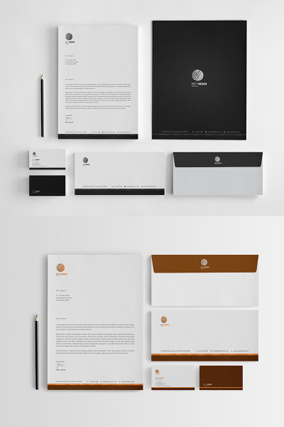 Beyman Corporate Identity Template #65734