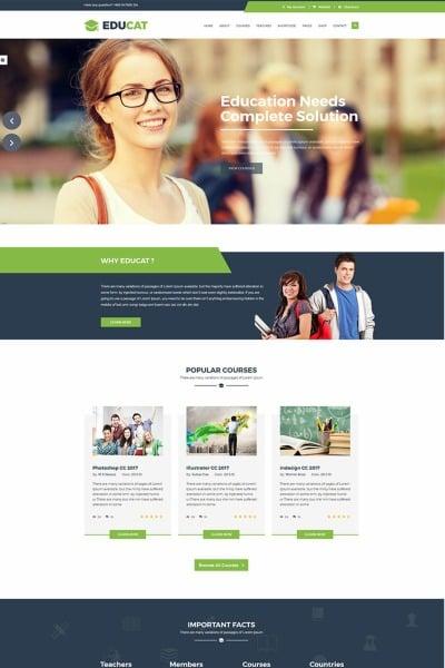 Educat - Template para Sites Educativos #65726